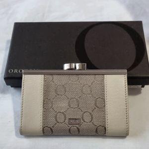 Oroton Essential-Slim Frame Cardholder